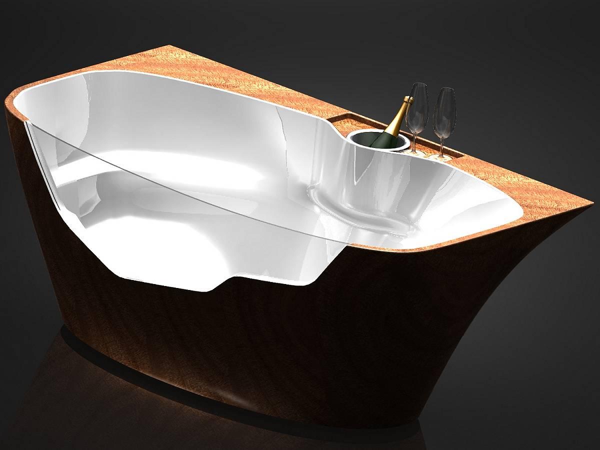 Vasca Da Bagno Vetro : Vasca da bagno vetro la migliore scelta di casa e interior design